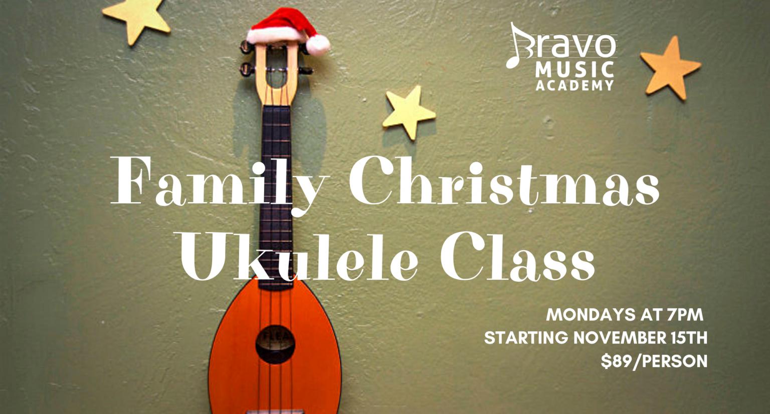 2021 Family Holiday Ukulele Class!
